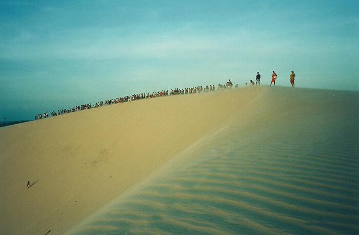 Sunset dune Jericoacoara Allaboardthefraytrain
