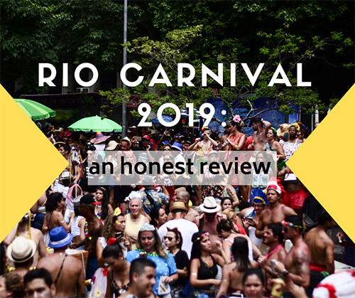 Rio Carnival 2019 honest review cover Allaboardthefraytrain
