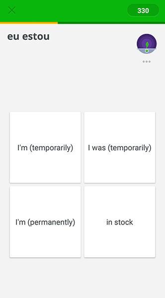Memrise language learning app screenshot Allaboardthefraytrain