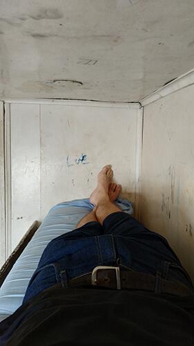 Beds on the Aquidaban
