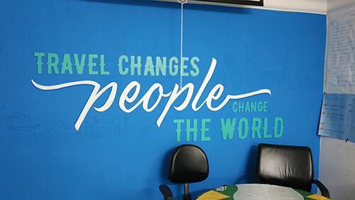 Worldpackers motto