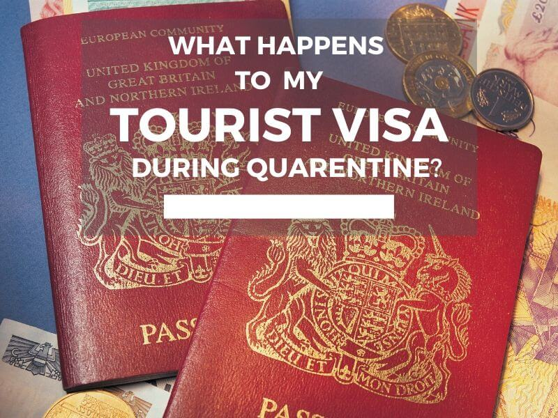 What happens to my Brazilian tourist visa during quarantine?