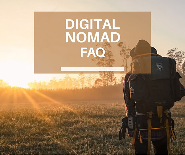 Digital nomad FAQ cover