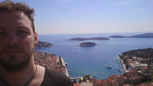 Relaxing in Croatia