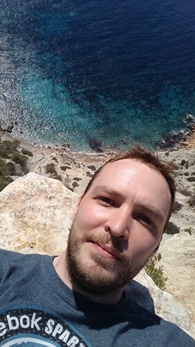 Happy in Ibiza