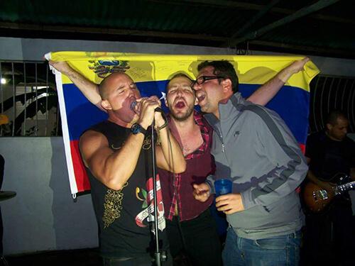 Singing in Venezuela