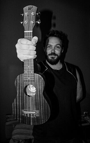 Me and my ukulele