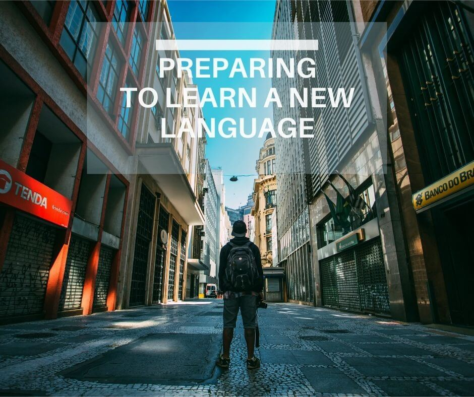 Preparing to learn a new language cover